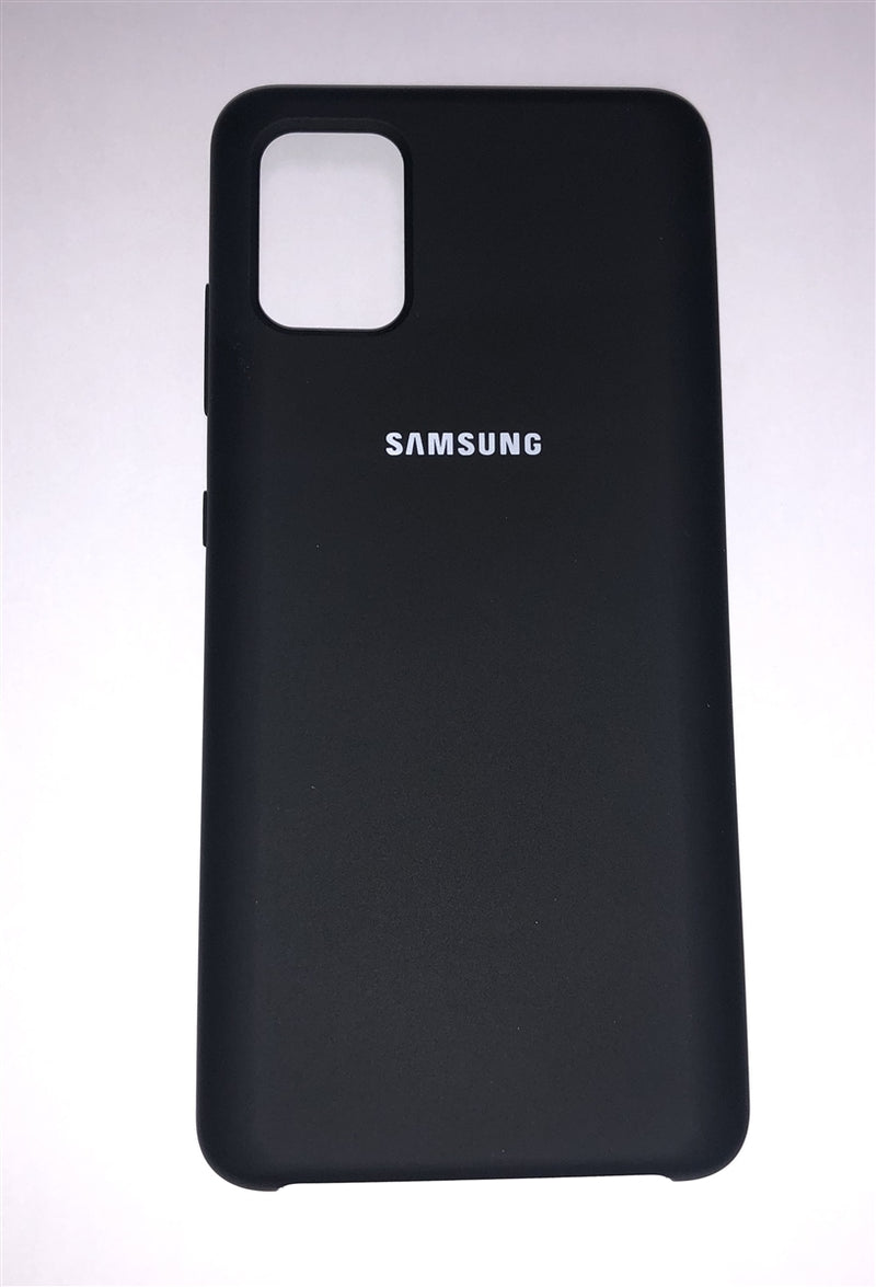 Samsung Silicone Cover for Galaxy A51 (Black)