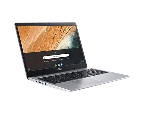 "Acer Chromebook 315 15.6"" 32GB Laptop (Pure Silver)"