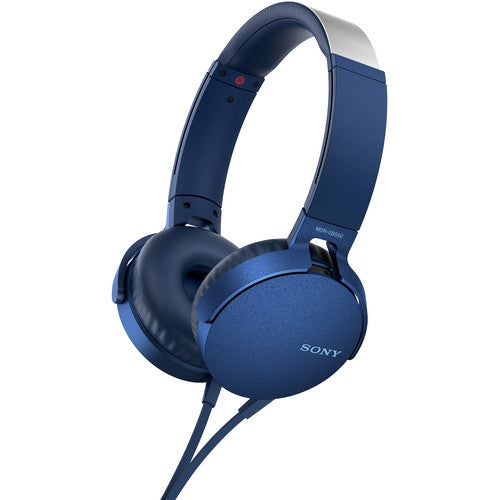 Sony Extra Bass On-Ear Headset/Headphones with Mic for Phone Call