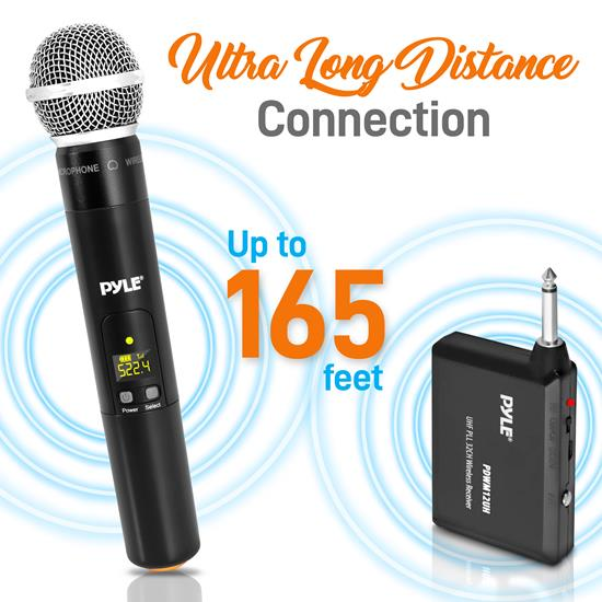 Pyle PDWM13UH Wireless Microphone System
