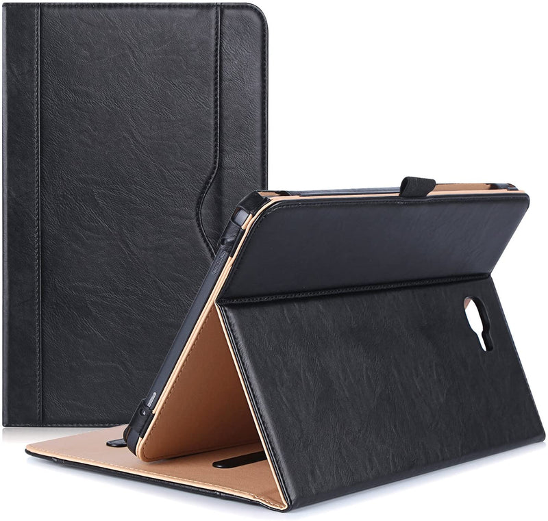 ProCase Stand Folio Case for Galaxy Tab A 10.1 (Black)
