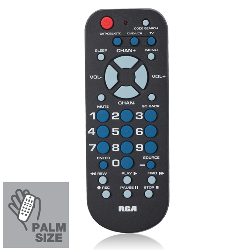 RCA RCR503BE Platinum Pro 3-Device Universal Remote