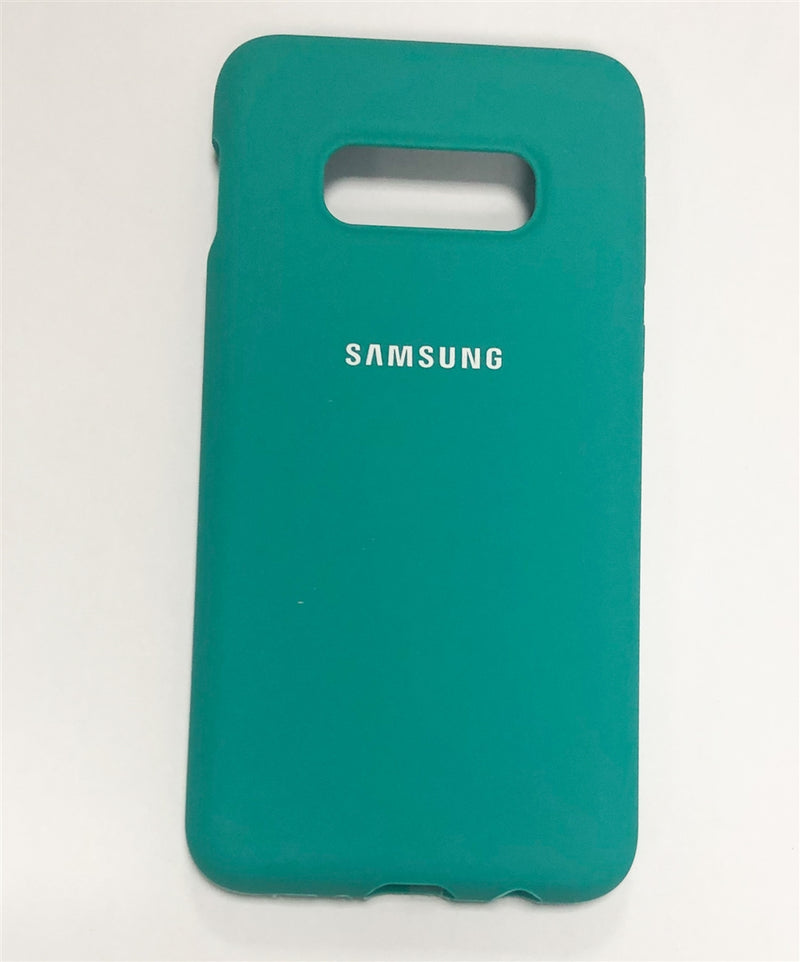 Samsung Silicone Cover for Galaxy S10e (Green)