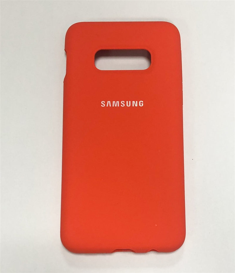 Samsung Silicone Cover for Galaxy S10e (Orange)