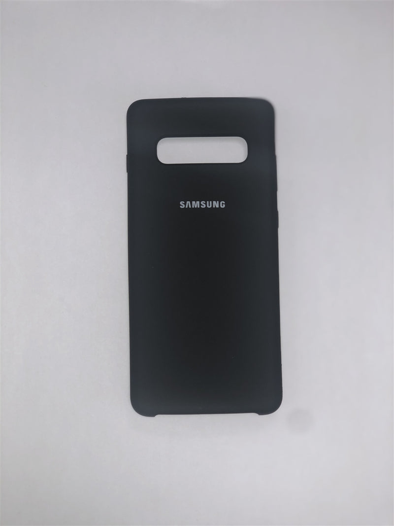 Samsung Silicone Case for Galaxy S10+ (Black)