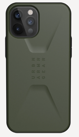 Urban Armor Gear Civilian Series Apple iPhone 12 Pro Max 5G Case