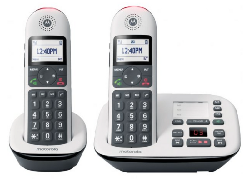 Motorola CD5 Series Digital Cordless Telephone with Answering Machine (2 Handsets)