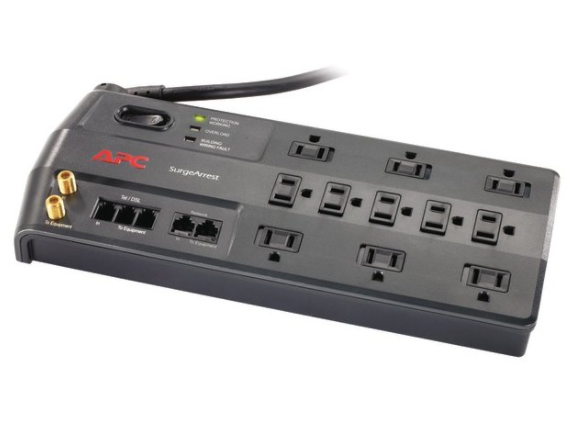 APC 11-Outlet Performance SurgeArrest® Surge Protector (Telephone/Coaxial/Ethernet Protection)