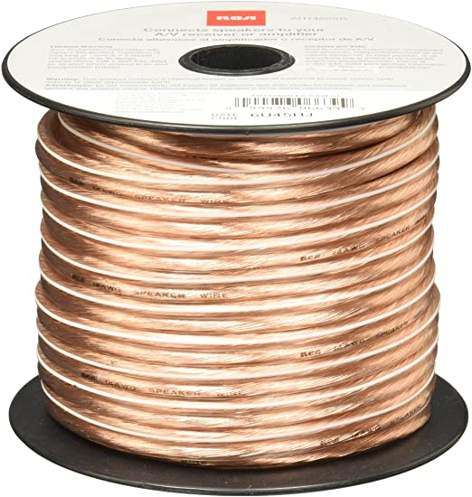 RCA 14-Gauge Speaker Wire (100ft)