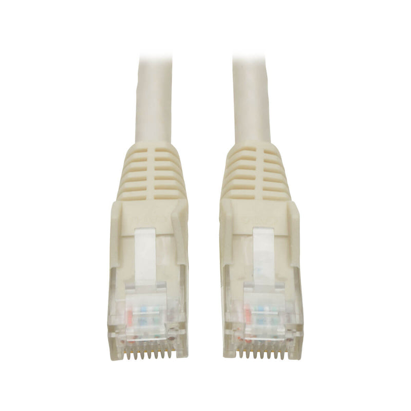 Tripp-Lite CAT-6 Gigabit Snagless Molded Patch Cable 1ft (White)