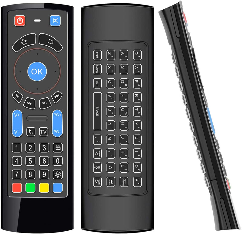 Wireless Smart Remote and Wireless Keyboard
