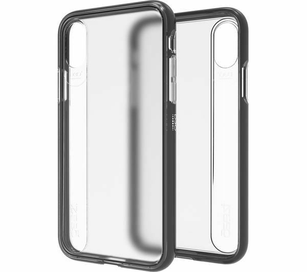 Gear 4 Windsor Case for iPhone X (Clear/Black)