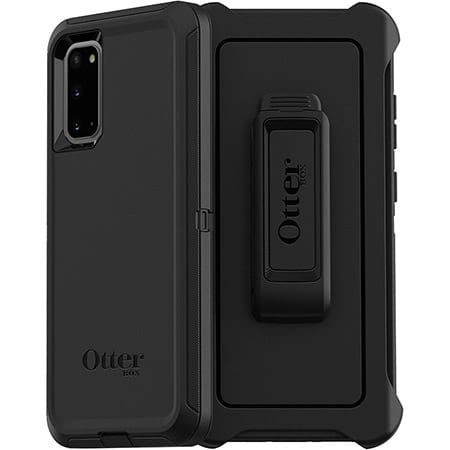 OtterBox Defender Case with Holster for Galaxy S20 (Black)