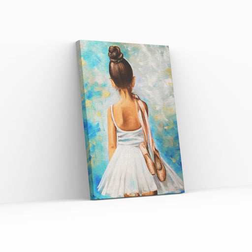 Paint by numbers - LITEN BALLERINA