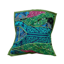 Handmade Cushion Cover - Green