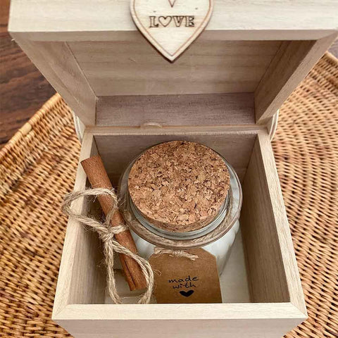 Soy Wax Scented Candle Gift Box - Min Ayn Home Home Decoration