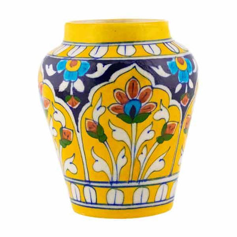 Yellow Planter - Min Ayn Home Home Decoration