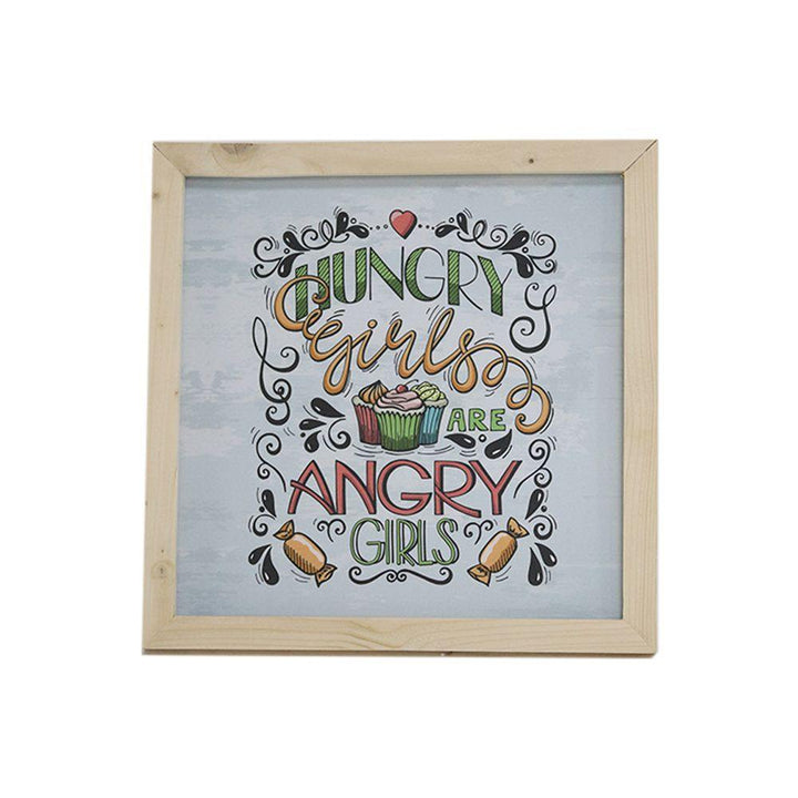 Hungry Girls Frame Wall Decor - Hanging Decor
