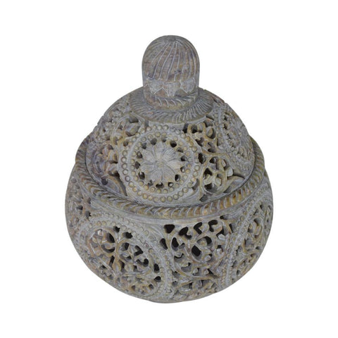 Marble Potpourri Bowl - Candle Holder - Bakhoor holder - Min Ayn Home Home Decoration