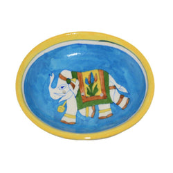 Soap Dish - Blue Pottery Ceramic
