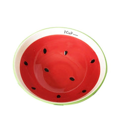 Ceramic Snack Watermelon Bowl