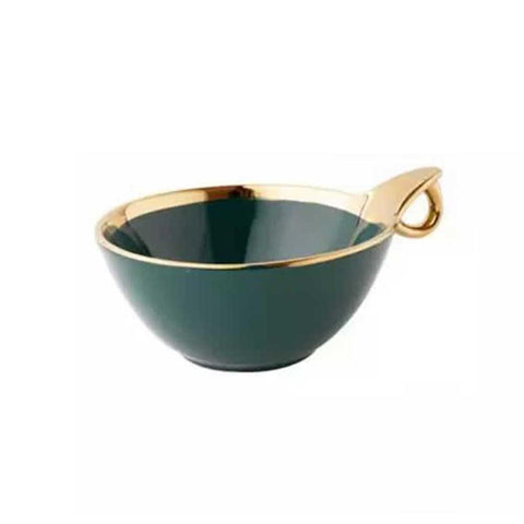 Ceramic Snack Bowl - Min Ayn Home Home Decoration