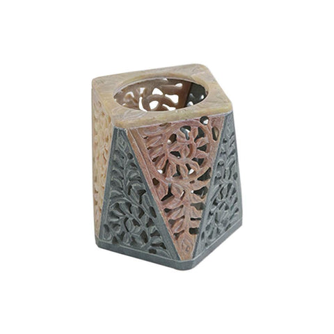 Marble Tea Light Holder - Bakhoor Burner Candle Holder - Min Ayn Home Home Decoration
