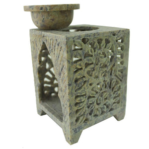 Marble Aroma Oil Burner - Min Ayn Home Home Decoration