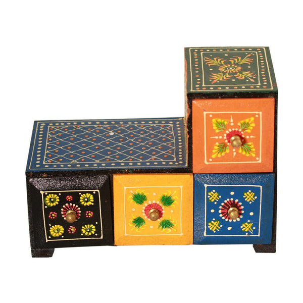 Miniature Chest Of Colorful Drawers - Min Ayn Home Home Decoration Ideas