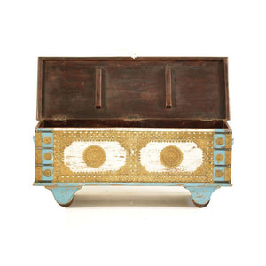 Vintage Wooden Trunk - Min Ayn Home Home Decoration