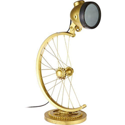 Antique Cycle Shaped Lamp - Electroplated