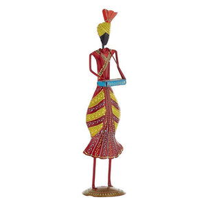 Hand Painted Harmonist Sculpture Vintage Home Decor - Min Ayn Home Home Decoration Ideas