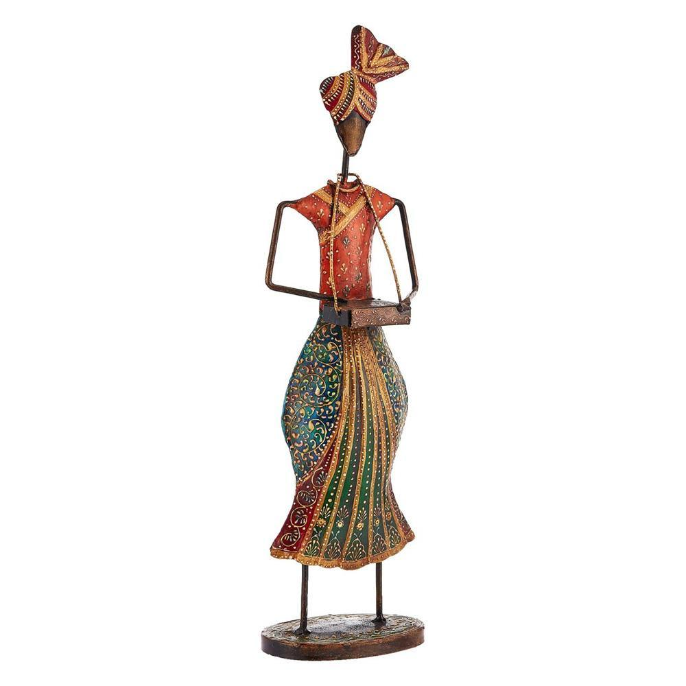 Rajasthani Drummer Sculpture - Dholak Home Decor - Min Ayn Home Home Decoration Ideas