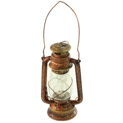 Hand Painted Lantern Bronze