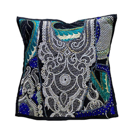 Designer Black Cushion Cover