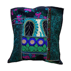 Floral Green Cushion Cover