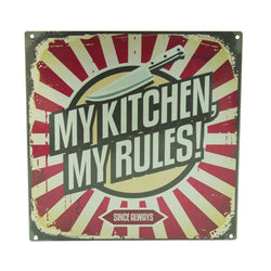 My Kitchen My Rules Wall Frame