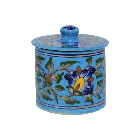 Cotton Jar - Light Blue - Min Ayn Home Home Decoration