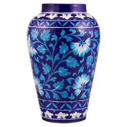 Blue Pottery Vase Turkish