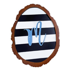 Wooden Wall Decor with Letter