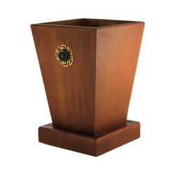 Handmade Wooden Big Planter - Brown