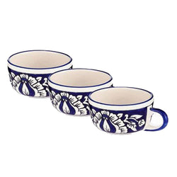 Blue Ceramic Tea Cup mugs