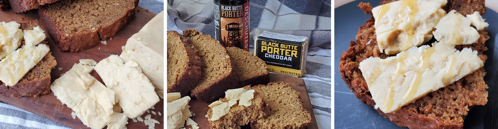 Porter Brown Bread with Black Butte Porter Cheddar