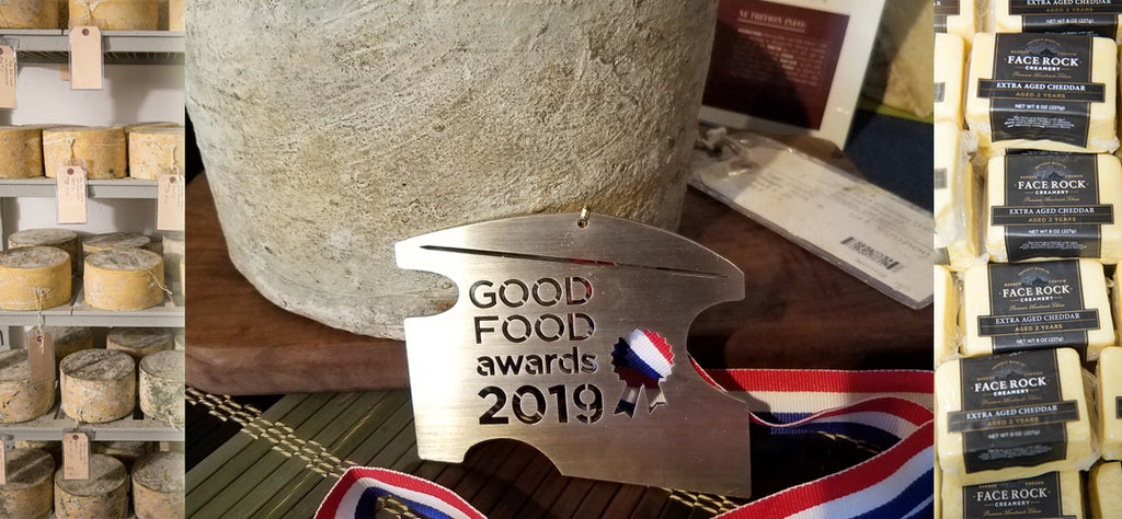 Face Rock Creamery Brings Home a 2019 Good Food Award