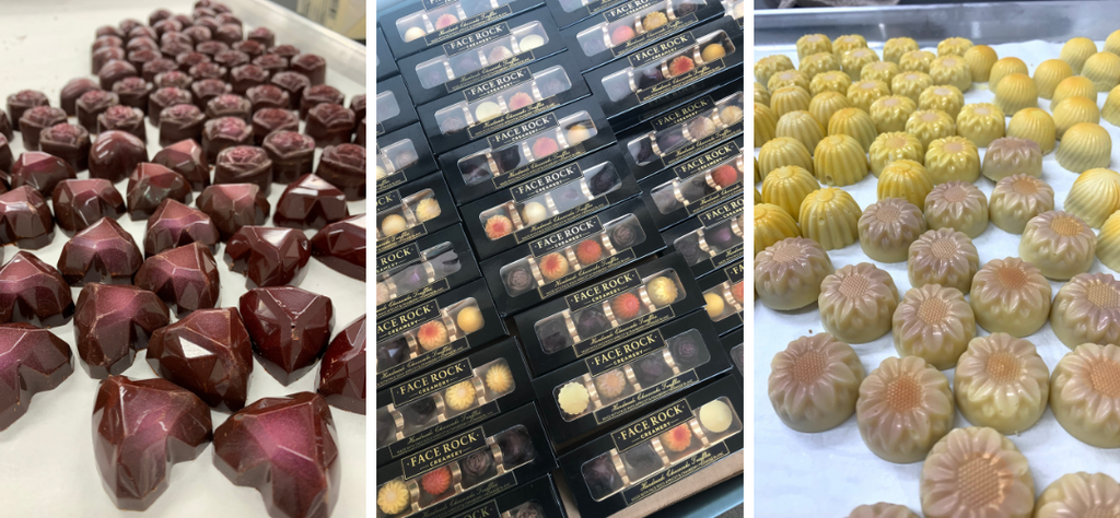 Show your Love with handmade cheesecake truffles