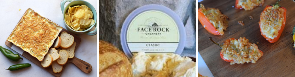 Face Rock Jalapeno Popper Dip