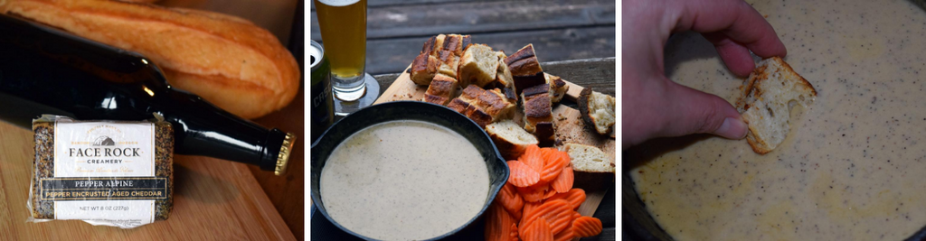 Pepper Alpine Beer Cheese Dip