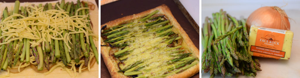 Peppercorn Harvest Asparagus and Caramelized Onion Tart