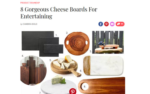 Examples of cheeseboards