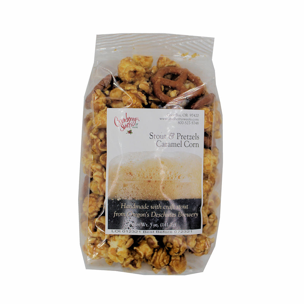 Cranberry Sweets Caramel & Candy Popcorn 5 oz